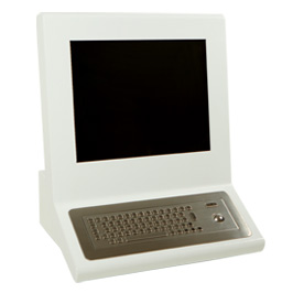 Desk Mounted Screen Kiosk GP1k
