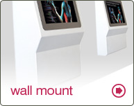 wall mounted kiosk